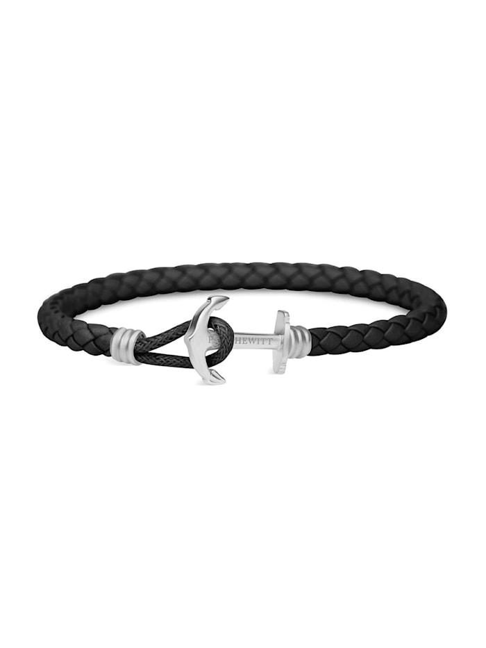 Paul Hewitt Paul Hewitt Unisex-Armband Edelstahl, schwarz