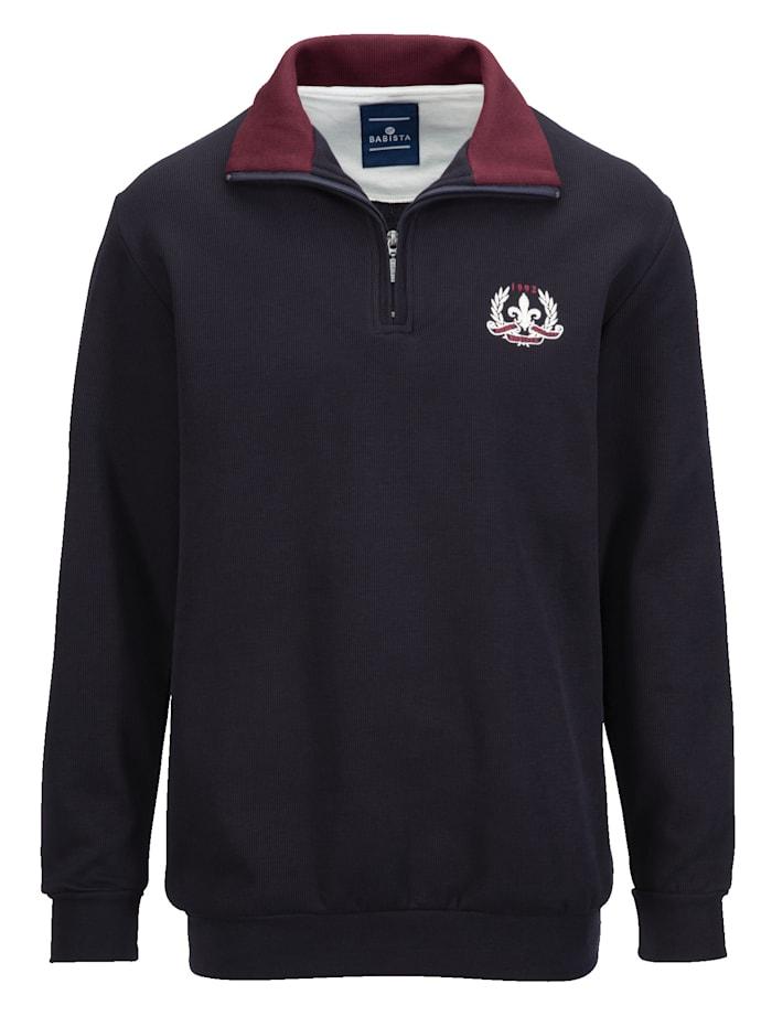 BABISTA Sweatshirt aus reiner Baumwolle, Marineblau