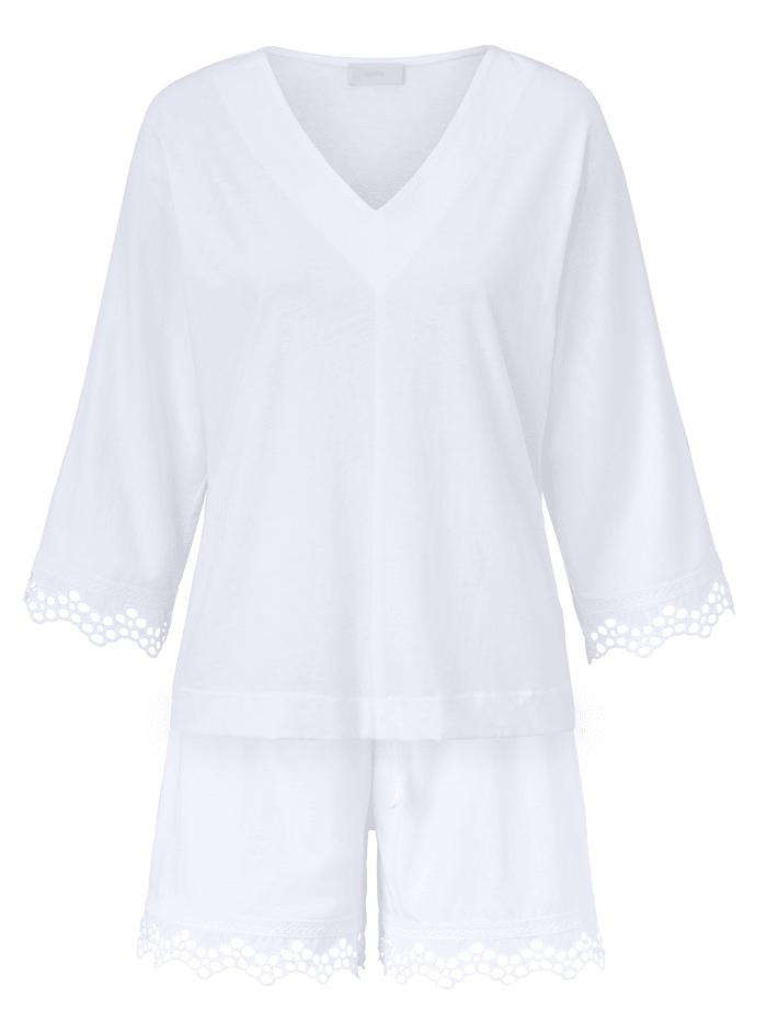 PLUTO Schlafanzug, Off-white