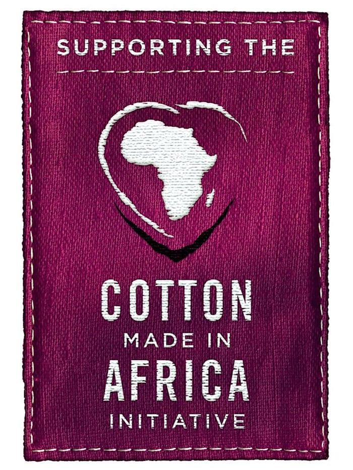Nachthemd uit de 'Cotton made in Africa'-collectie