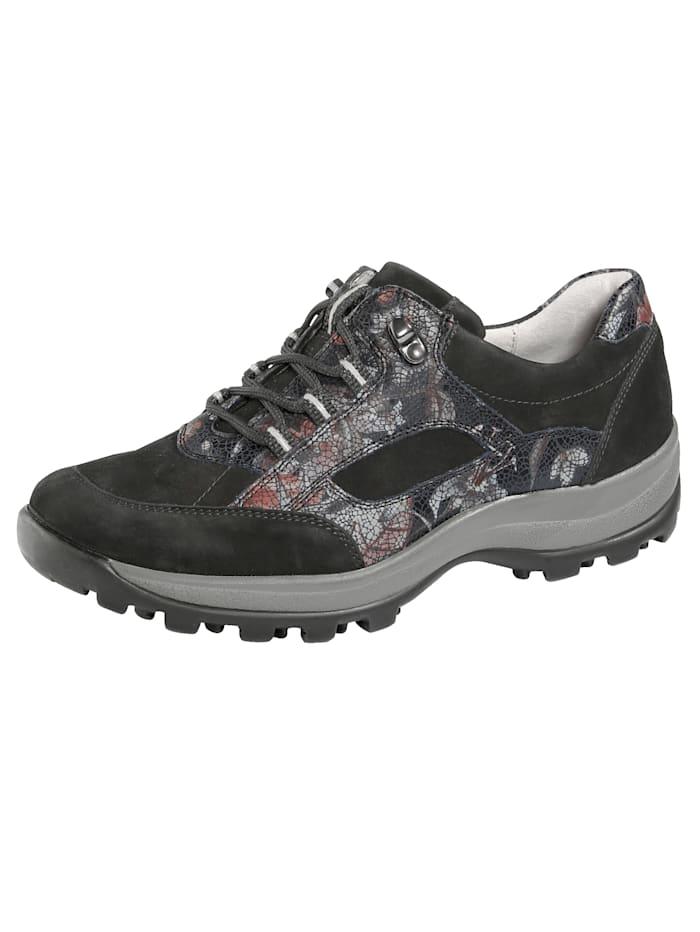 Waldläufer Chaussures de trekking, Noir