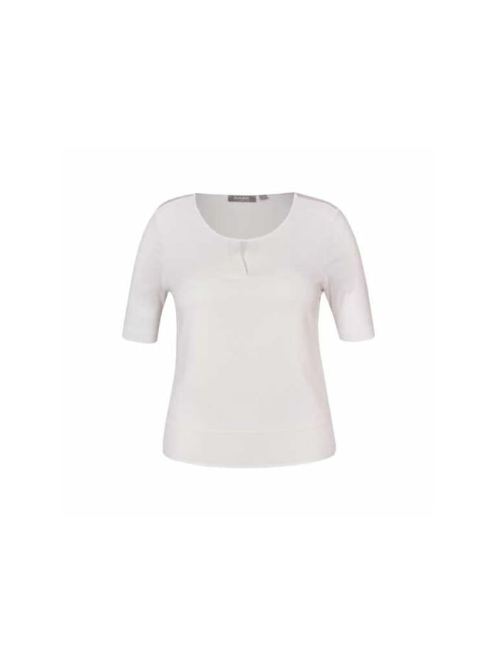 Rabe Rundhals T-Shirt, weiß