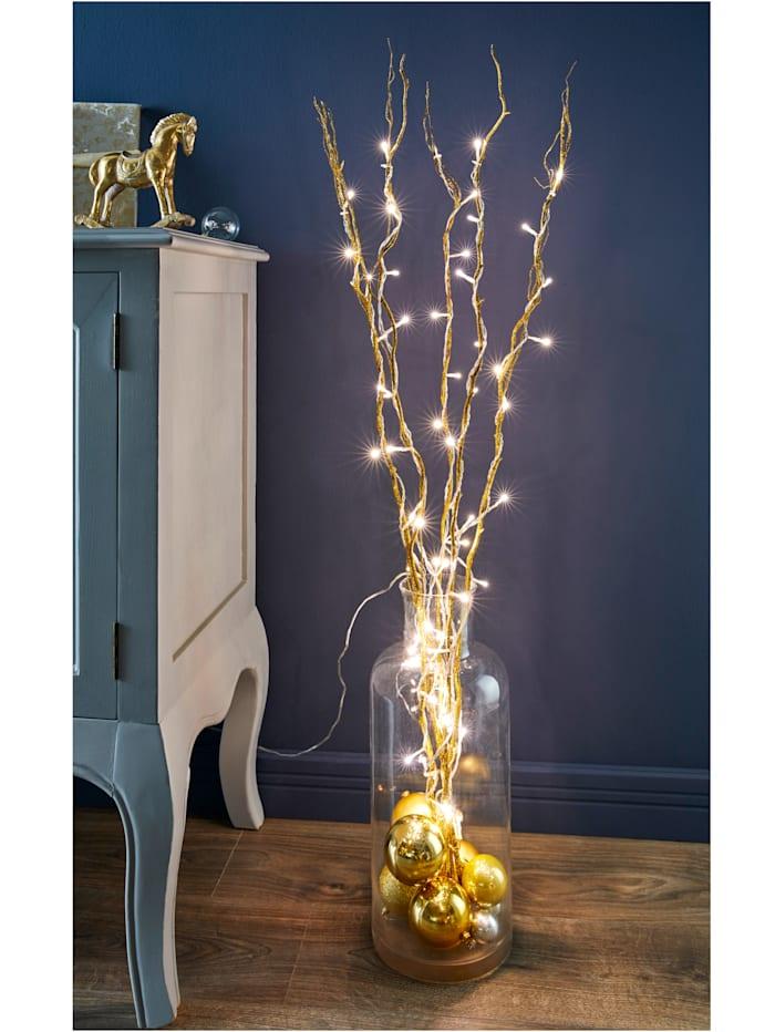Zweig mit LED