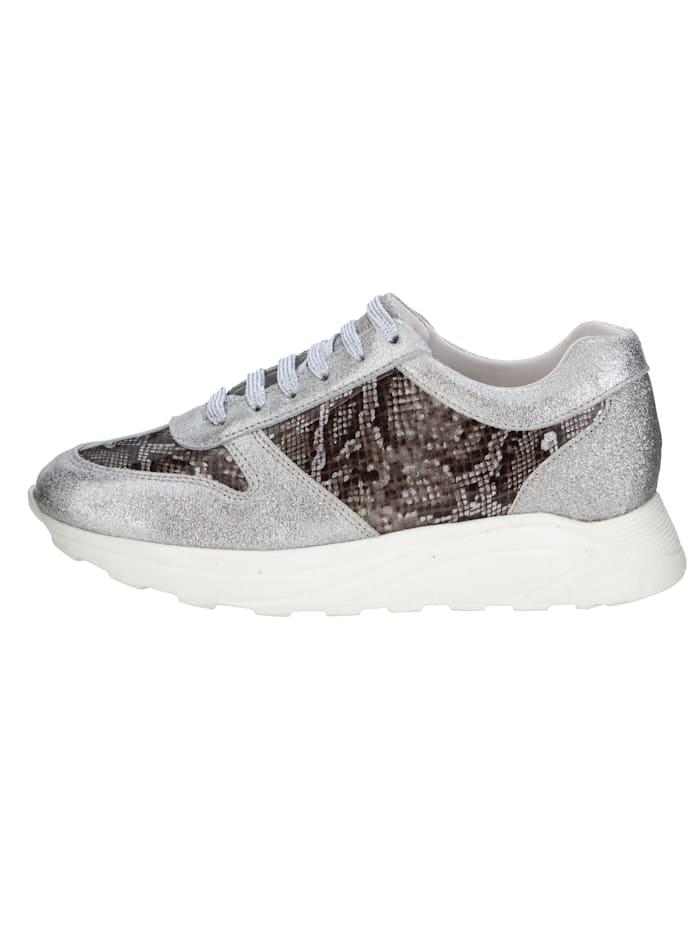 Sneaker met trendy slangenprint