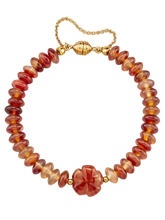 Sogni d'Oro Karneol-Armband, Orange