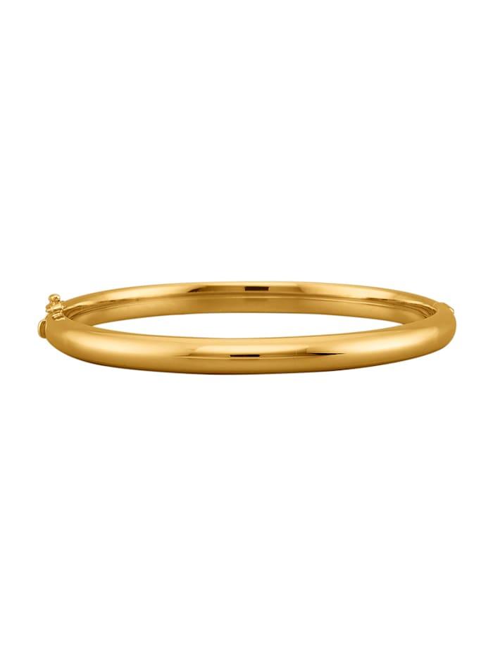 Amara Argent Bracelet en argent 925, doré, Coloris or jaune