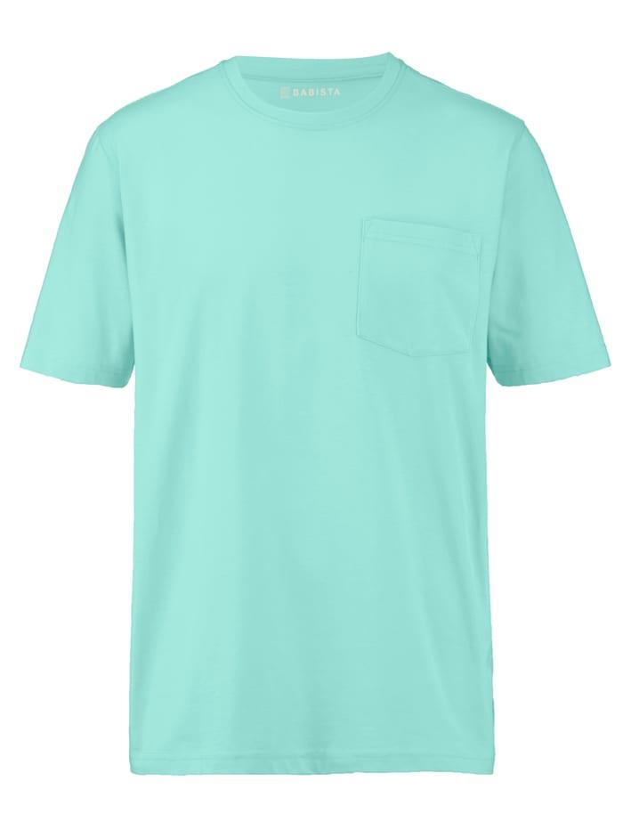 BABISTA T-shirt med bröstficka, Grön