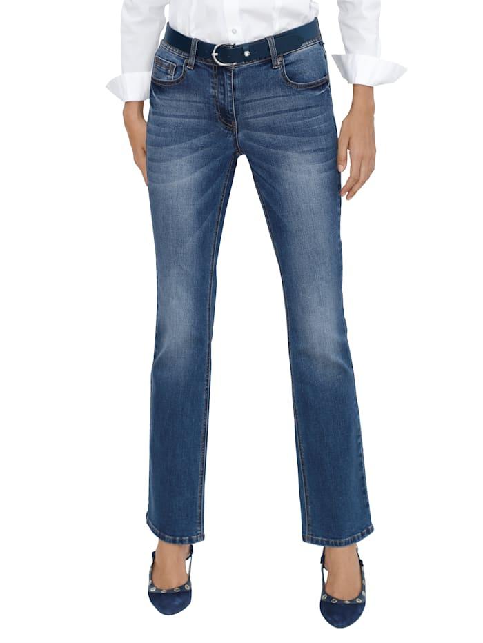 AMY VERMONT Jeans in 5-pocketmodel, Medium blue