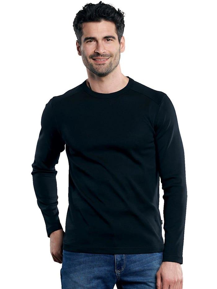 Engbers Langarmshirt aus der My Favorite Kollektion, Schwarz