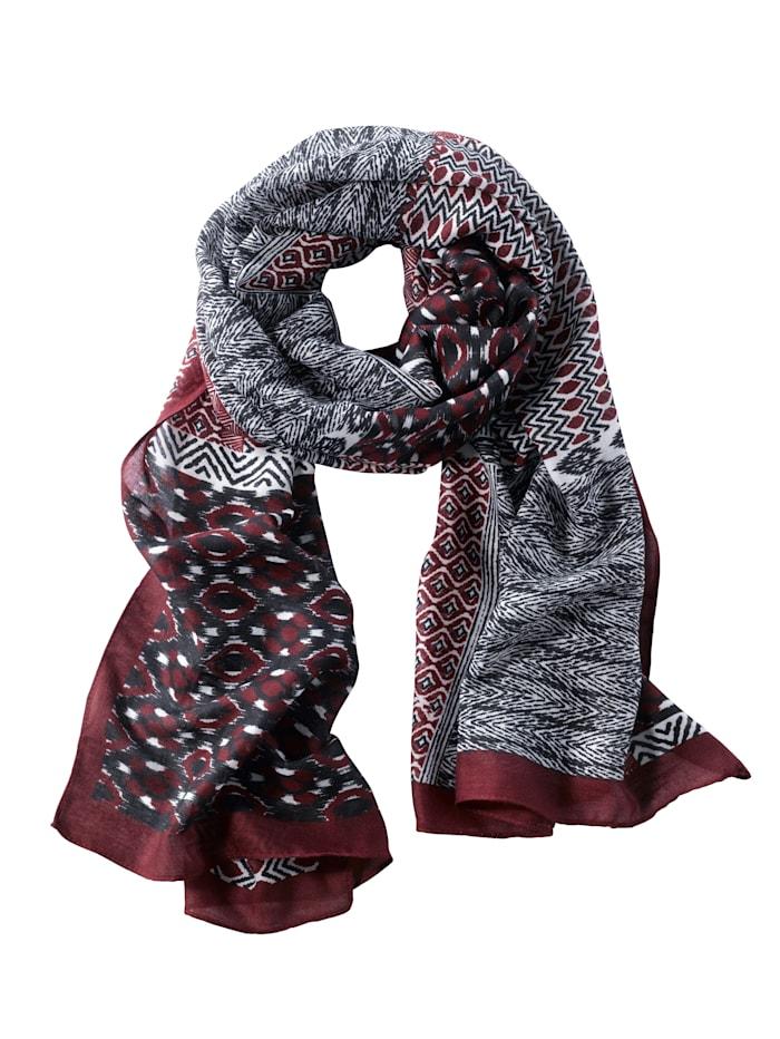 Sjaal, rood
