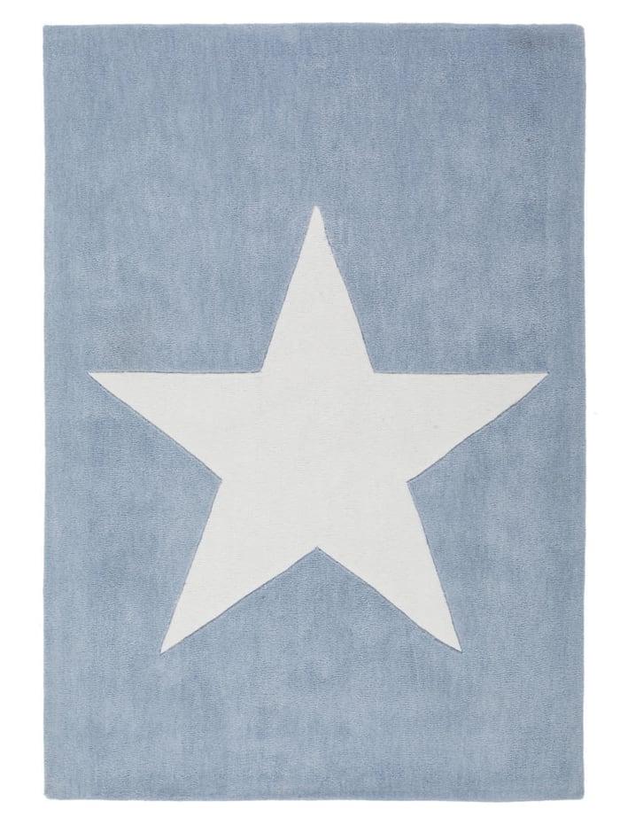 Kayoom Kurzflorteppich Leonhard, Blau