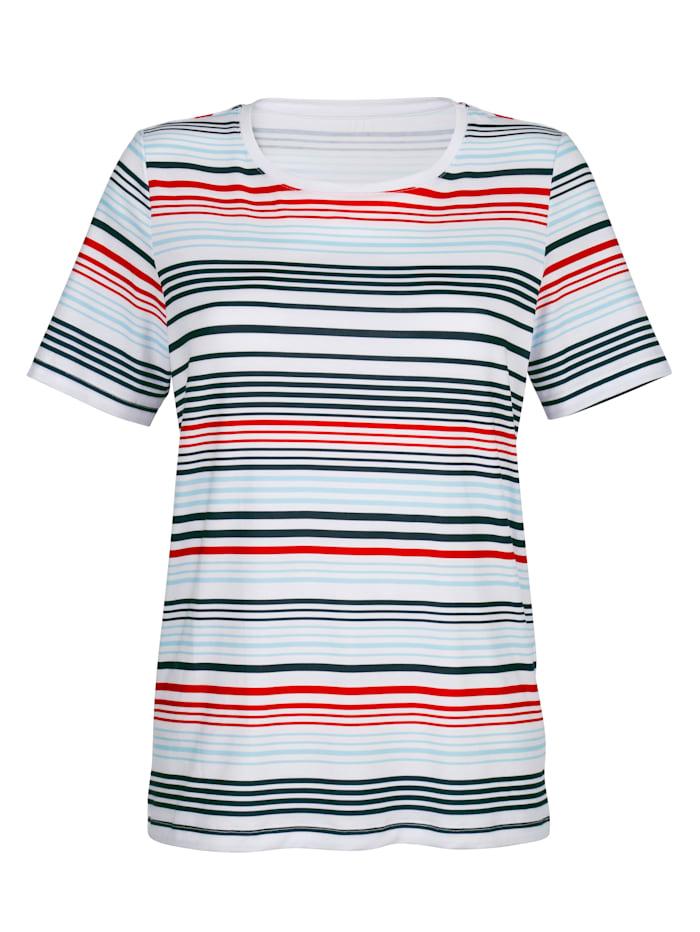 Tričko s prúžkovaným vzorom