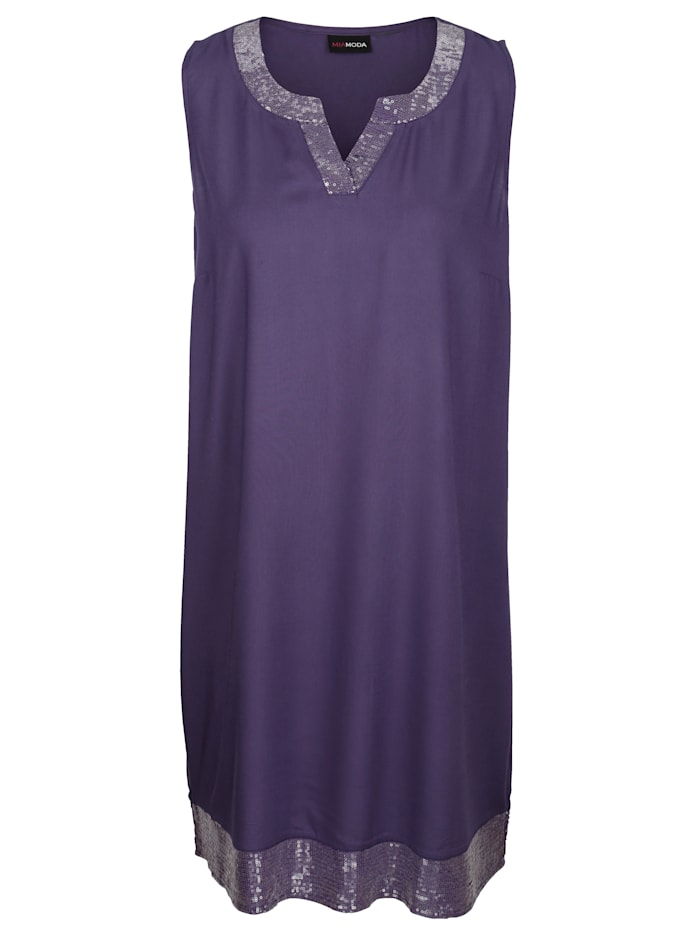 Kleid mit Paillettendetails