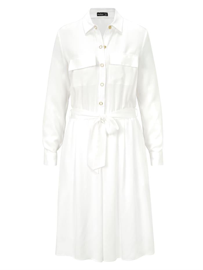 van Laack Kleid, Creme-Weiß