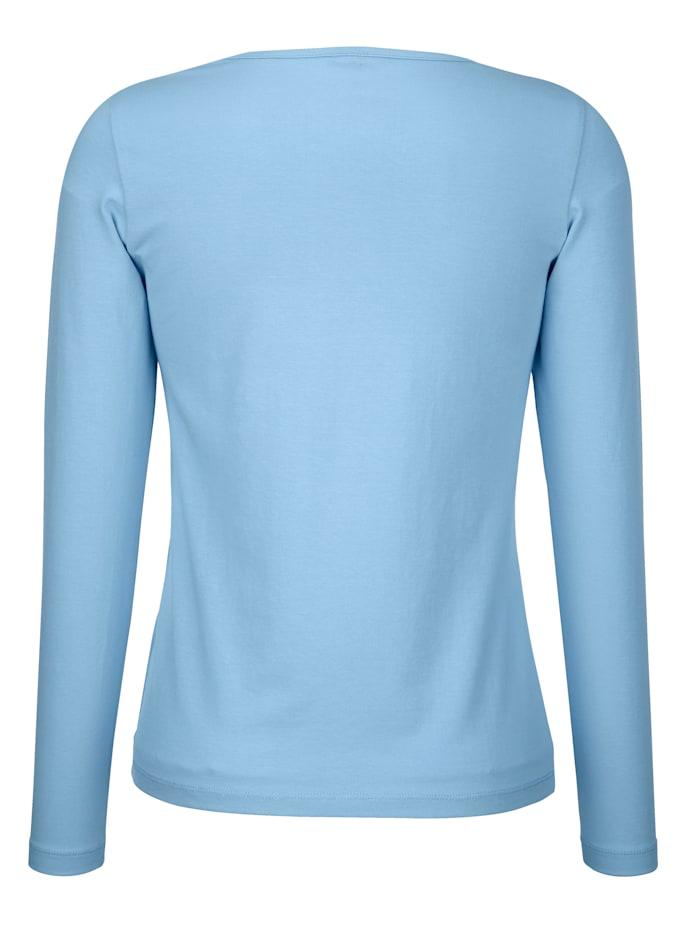 Tričko s vysokým podielom bavlny