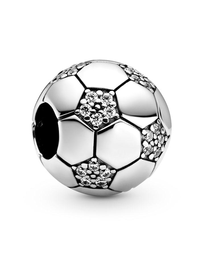 Pandora Charm-funkelnder Fussball- 798795C01, Silberfarben