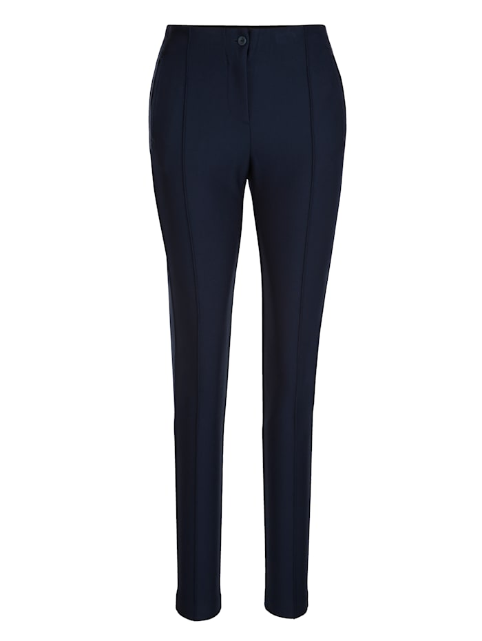 Trousers made from soft jersey