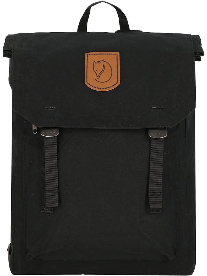 Fjällräven Foldsack No. 1 Rucksack 40 cm Laptopfach, black