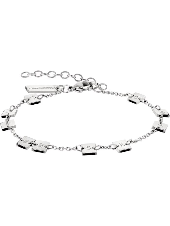 LIEBESKIND Berlin Liebeskind Damen-Armband Edelstahl, silber