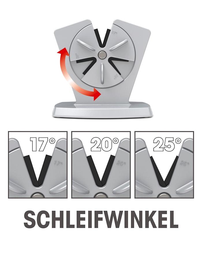 GOURMETmaxx Messerschärfer - 3 unterschiedliche Schleifwinkel