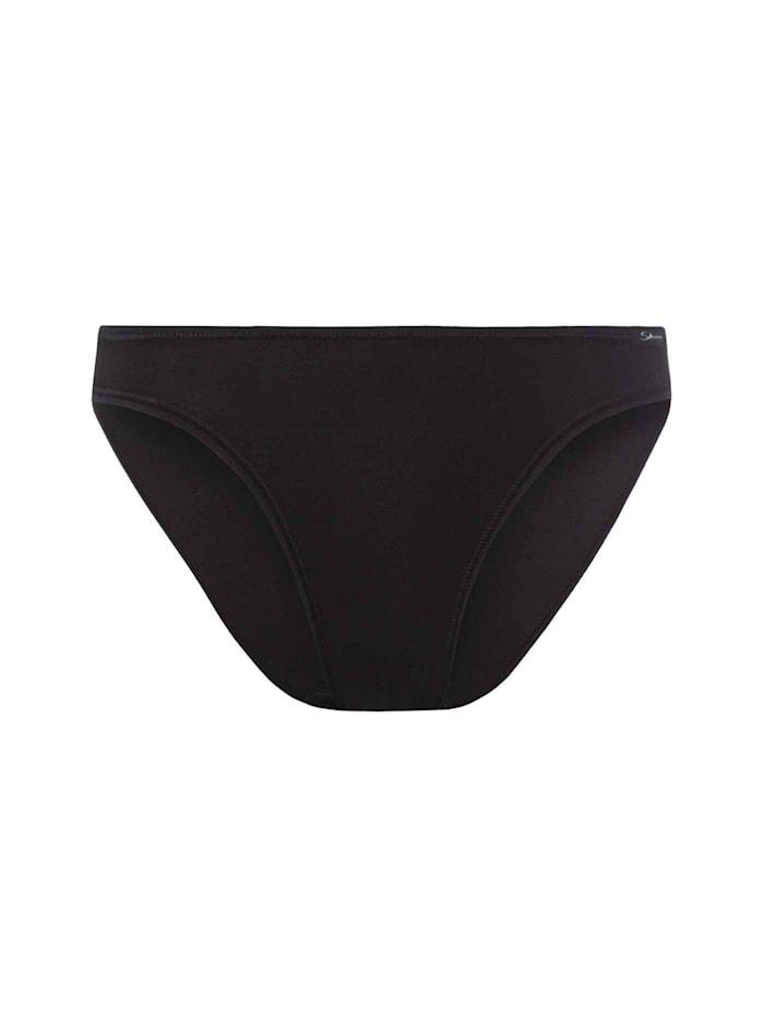 Skiny Low-Cut Slip Ökotex zertifiziert, black
