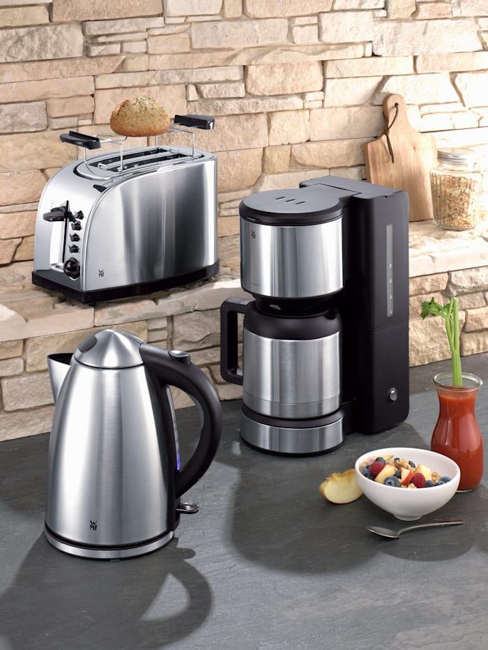 WMF Kaffebryggare STELIO med termokanna, silverfärgad/rostfri