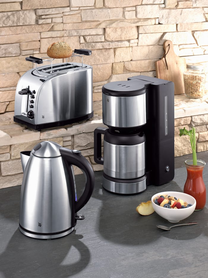 WMF Koffiezetapparaat met thermoskan, Zilverkleur/roestvrij staalkleur