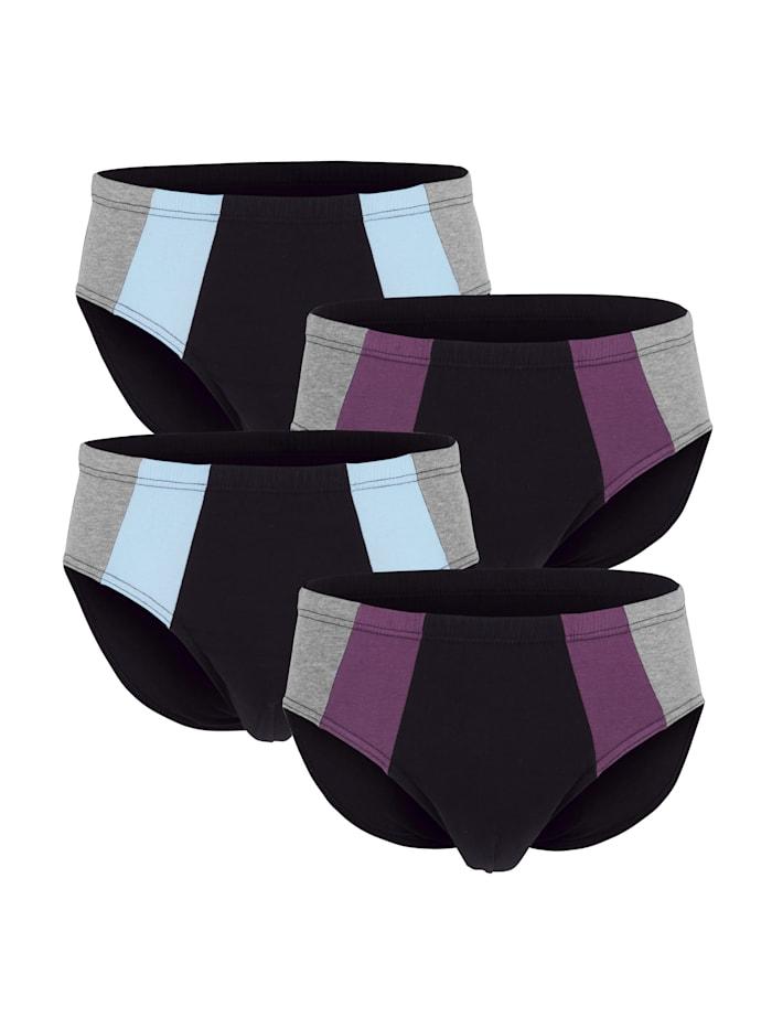 Blokkiraidalliset alushousut 4/pakkaus