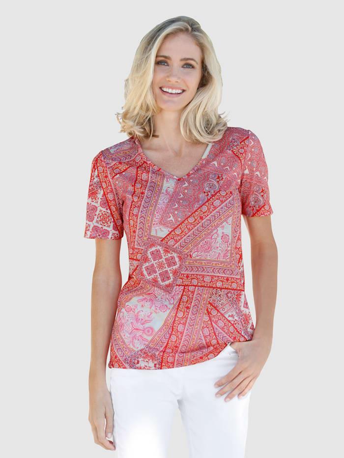 Dress In Paisley-kuvioitu paita, Roosa
