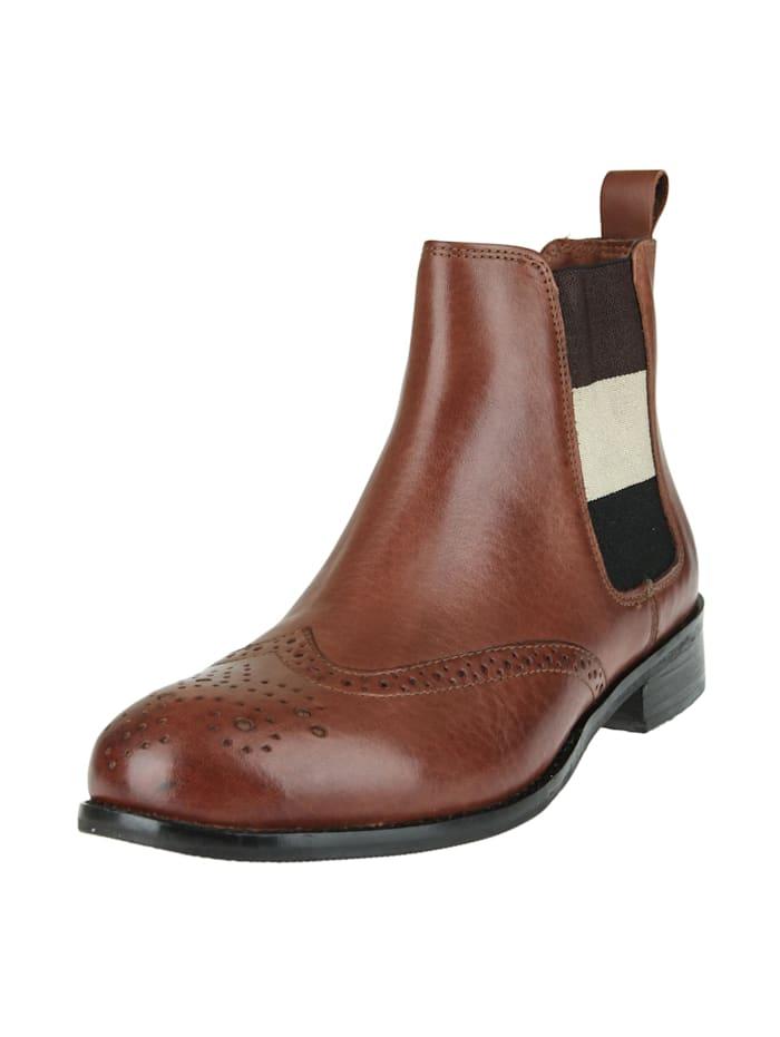 COX Stiefelette Chelsea-Boots, braun