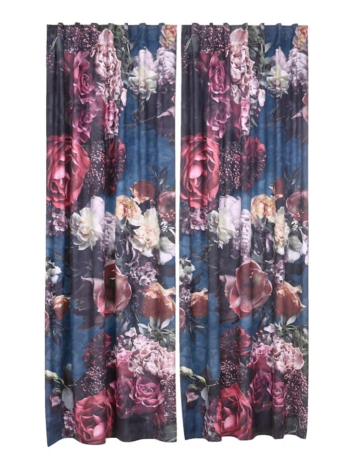 IMPRESSIONEN living Vorhang-Set, 2-tlg., Multicolor