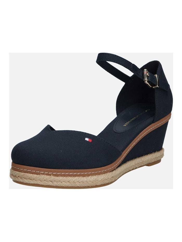 TOMMY HILFIGER Sandalen/Sandaletten, blau