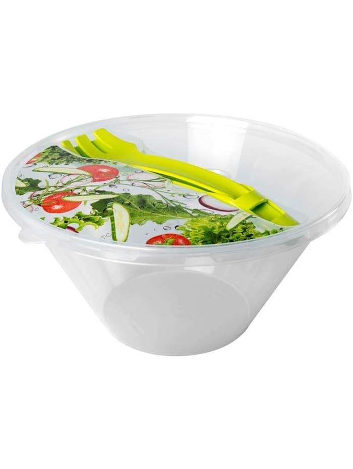 HTI-Living Schüssel mit Deckel Easy Lunch, Transparent