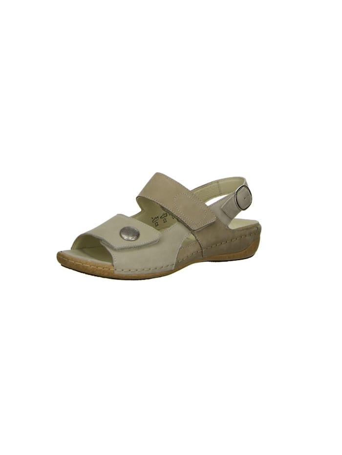 Waldläufer Damen Sandale in beige, beige