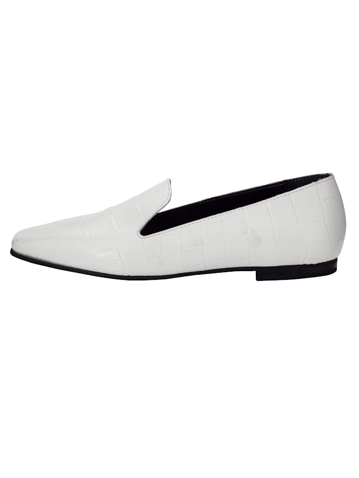 Loafer in edler Kroko-Optik