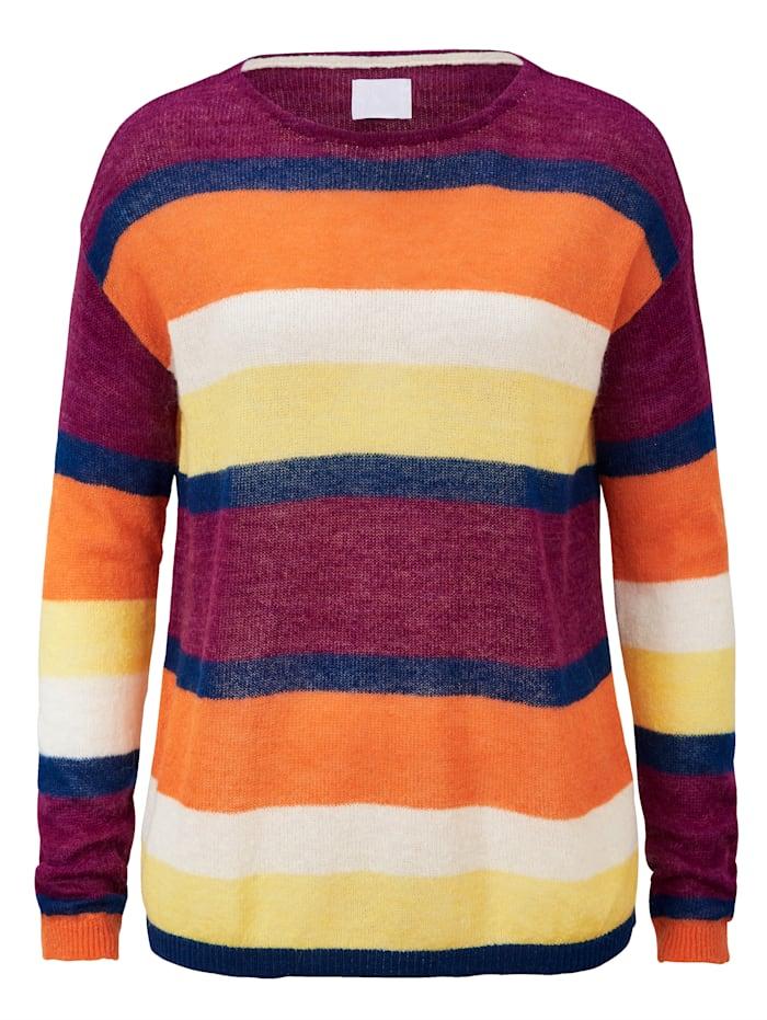 REKEN MAAR Strickpullover, Multicolor