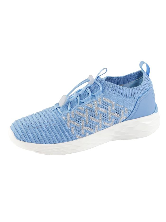 Jenny Sneakers med praktisk snabbsnörning, Blå