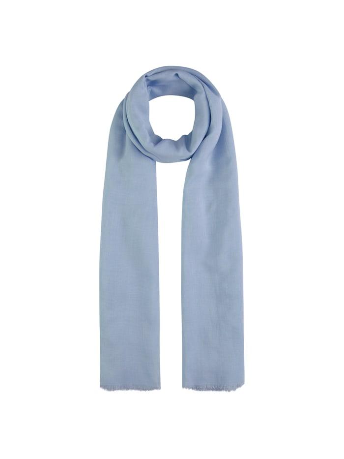 Codello Hauchfeiner XL-Schal aus Modal, light blue