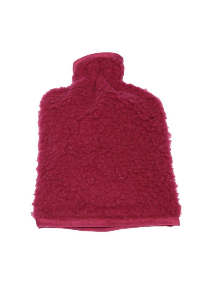 Linke Licardo Wärmflaschenbezug Wolle 20/30 cm, bordeaux
