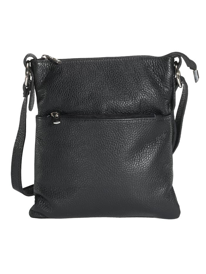 Shoulder bag made from premium leather