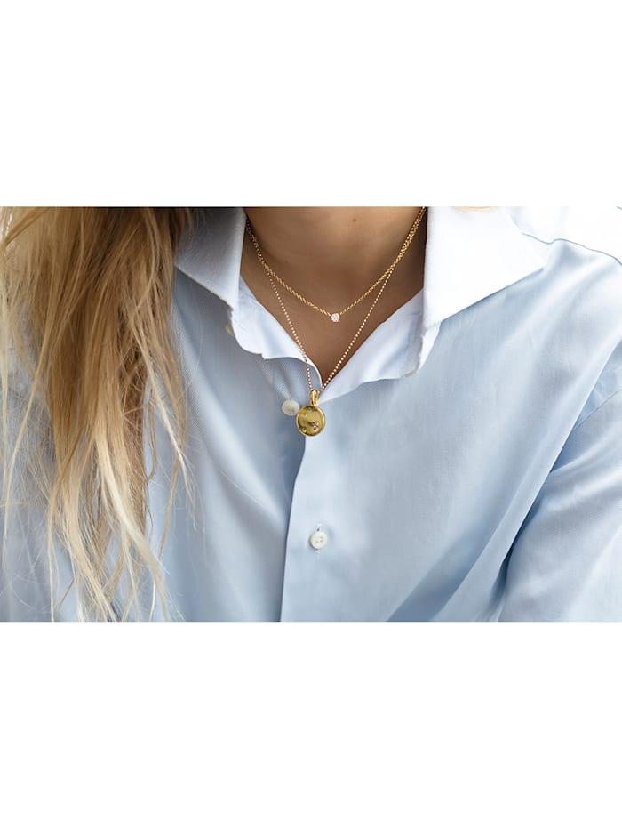 Sif Jakobs Jewellery Damen-Kette 925er Silber Zirkonia