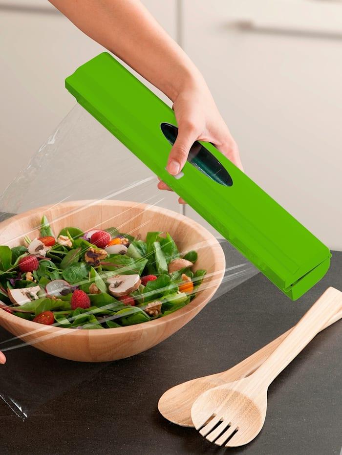 Folienspender 'Perfect-Cutter', grün