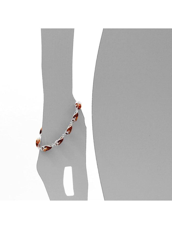 Armband - Gabi - Silber 925/000 - Bernstein