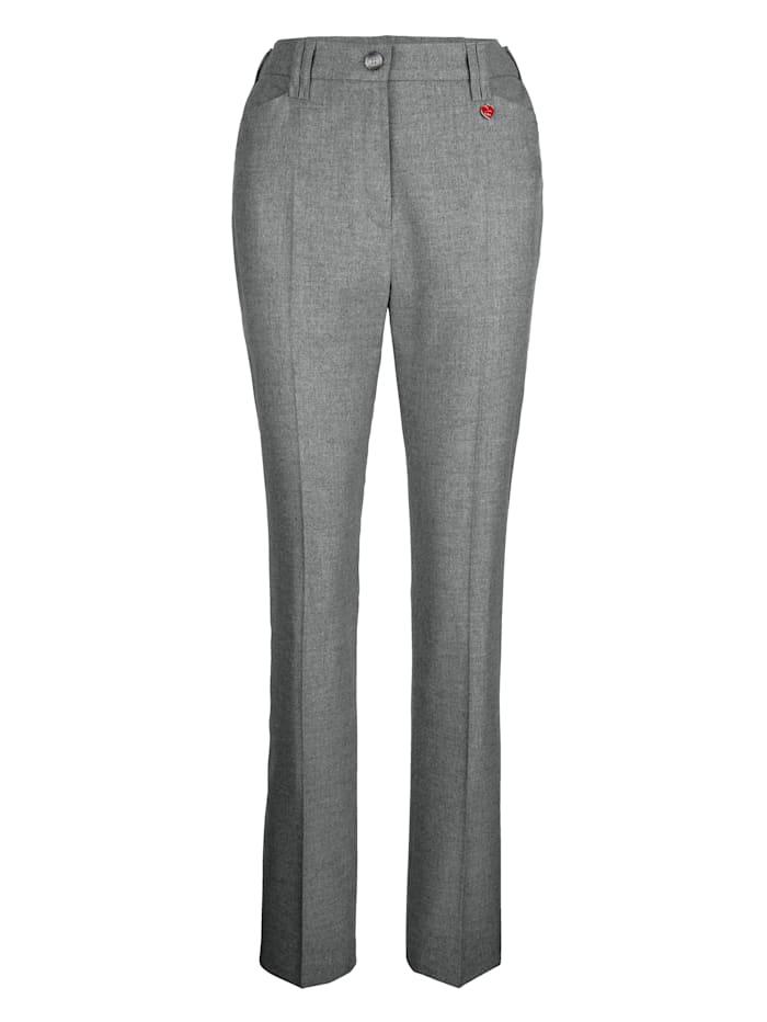 Pantalon au toucher cachemire