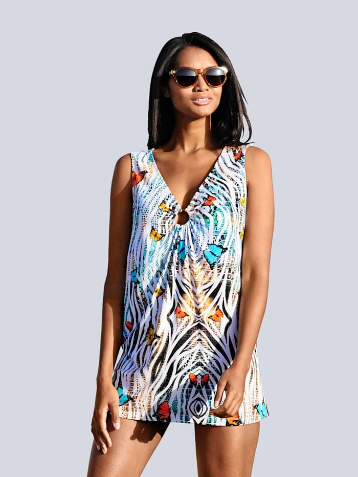Alba Moda Shirt mit Dekoring, Multicolor