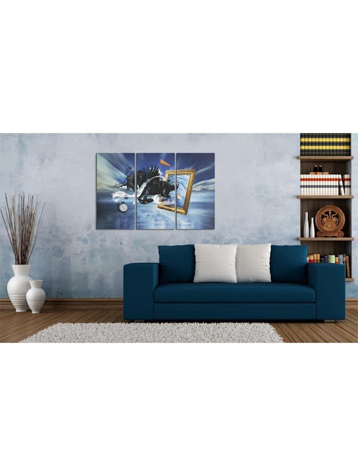 Wandbild Verwirklichung - Triptychon