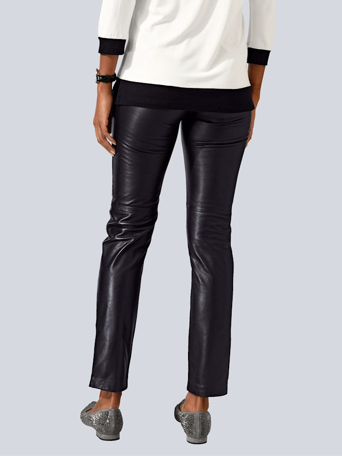 Pantalon en cuir matière extrêmement douce