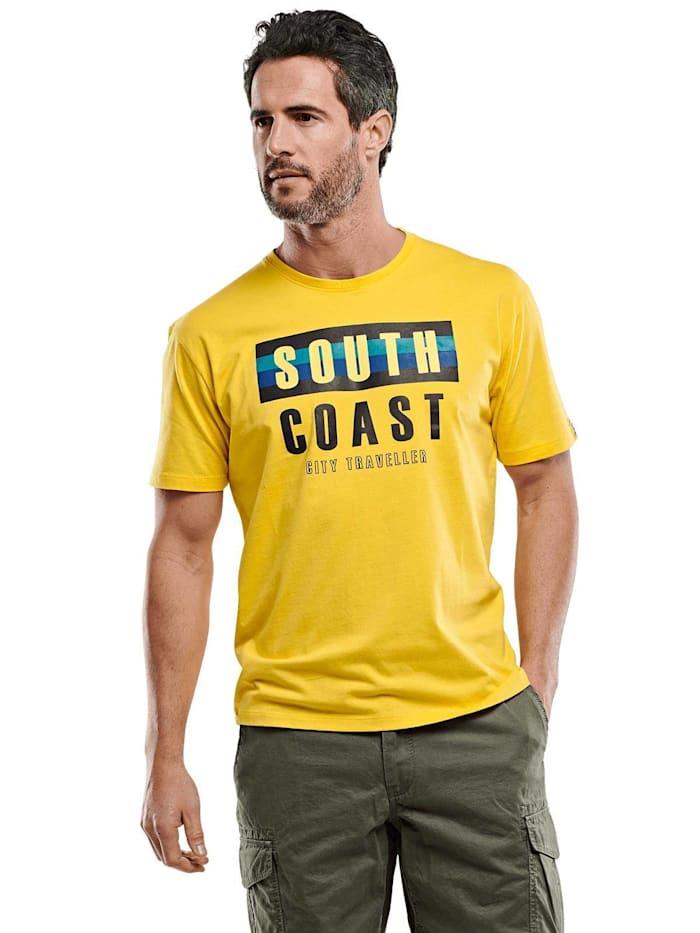 Engbers Rundhals T-Shirt, Rapsgelb
