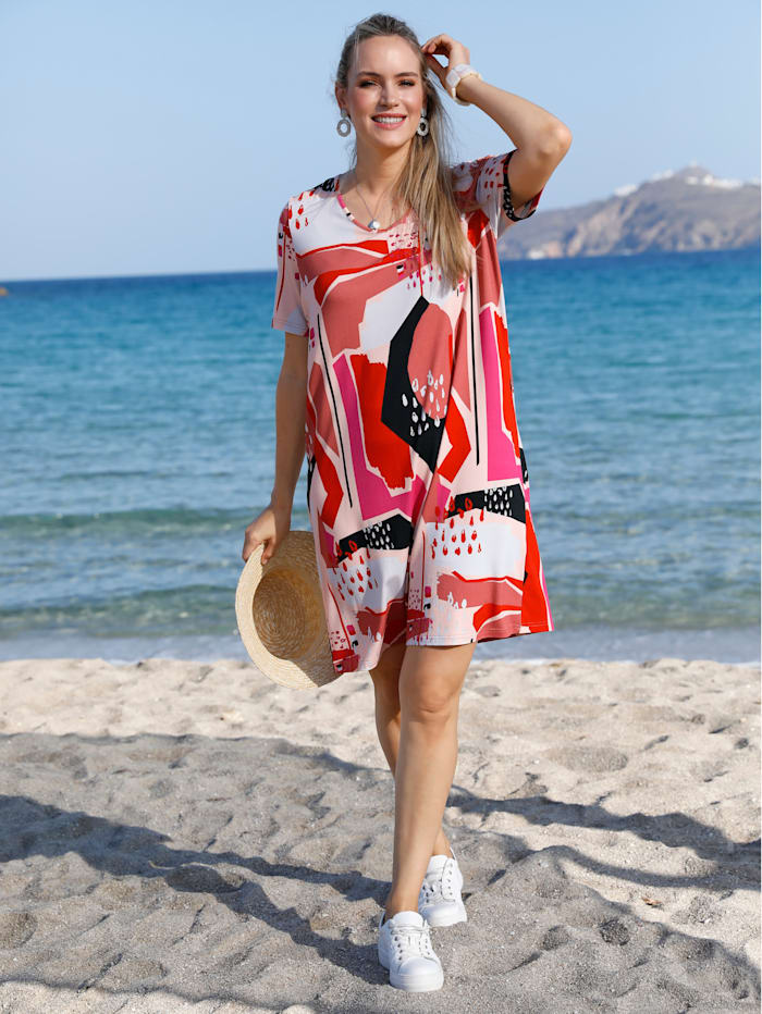 MIAMODA Kleid in Shirtqualität, Multicolor