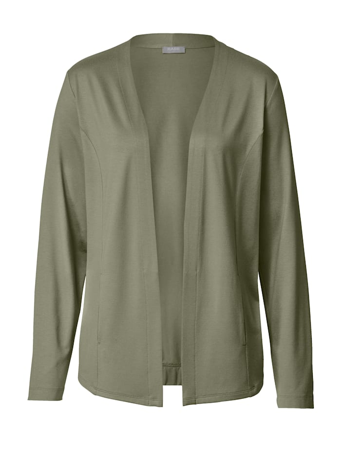 Jacket with fitting seams